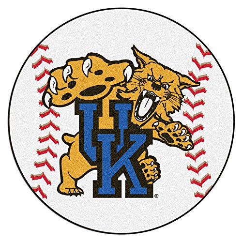 Fan Mats University of Kentucky Wildcats Baseball Area Rug ()