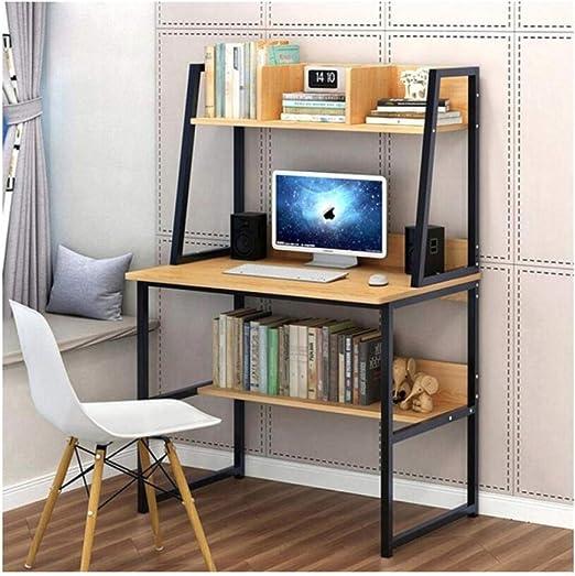 GFDEHG Escritorio Moderno y Simple para computadora con ...
