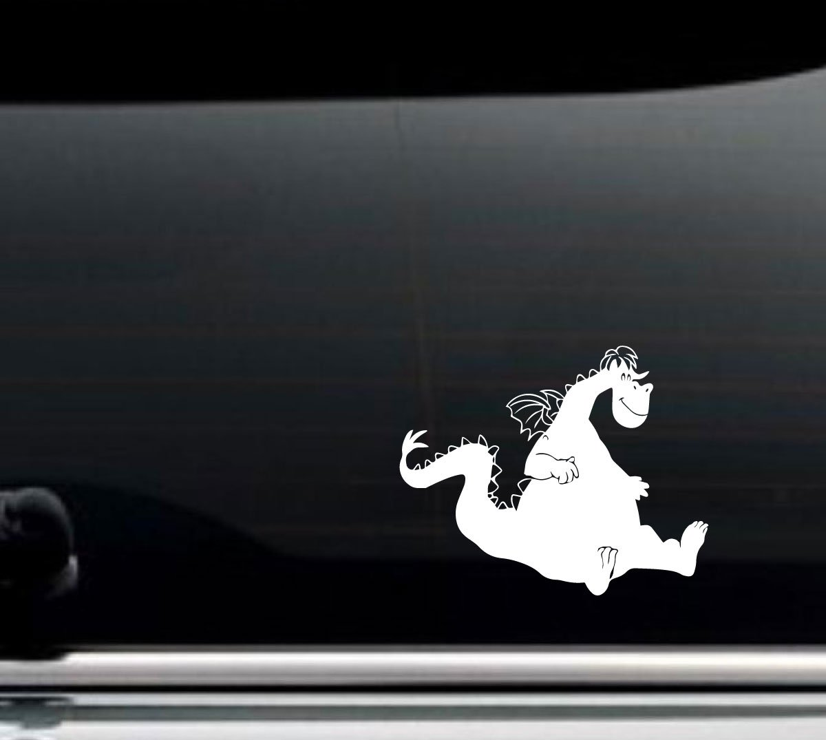 Car Decal Petes Dragon 9in x 7in Vinyl Sticker Decor for Window or Other Flat Surfaces in Your Vehicle