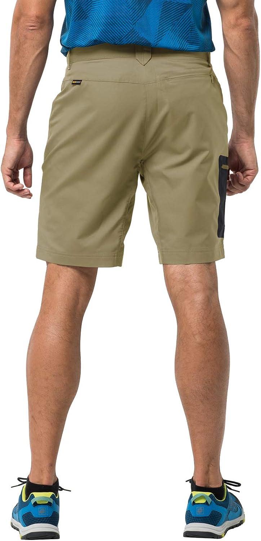 U Small 32//31 Jack Wolfskin Mens Active Track Mens Soft Shell Hiking Shorts 100/% Pfc Free,Sandstone 46