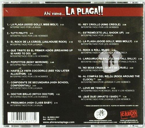 Ah Viene La Plaga!!-50 Anos De R & R - 50 Anos De Rock & Roll En Espana - Amazon.com Music