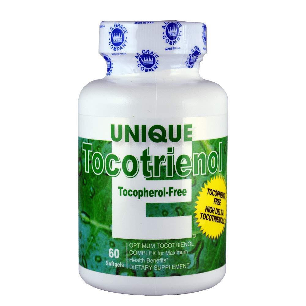 A.C. Grace - Unique E Tocotrienol Complex Tocopherol Free - 60 Softgel by UNIQUE E
