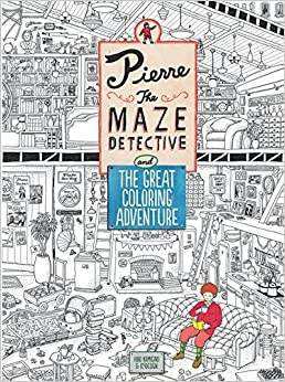 Pierre the Maze Detective and The Great Coloring Adventure (2016-08-23)