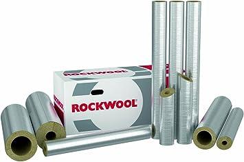 Steinwolle Rohrisolierung Rockwool 800 alu 89 x 30 mm