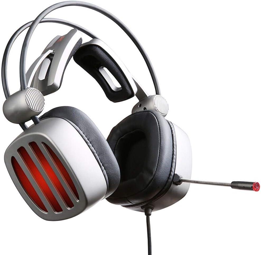 Game Hardware Computers & Accessories KQHSM Gaming Headphones ...