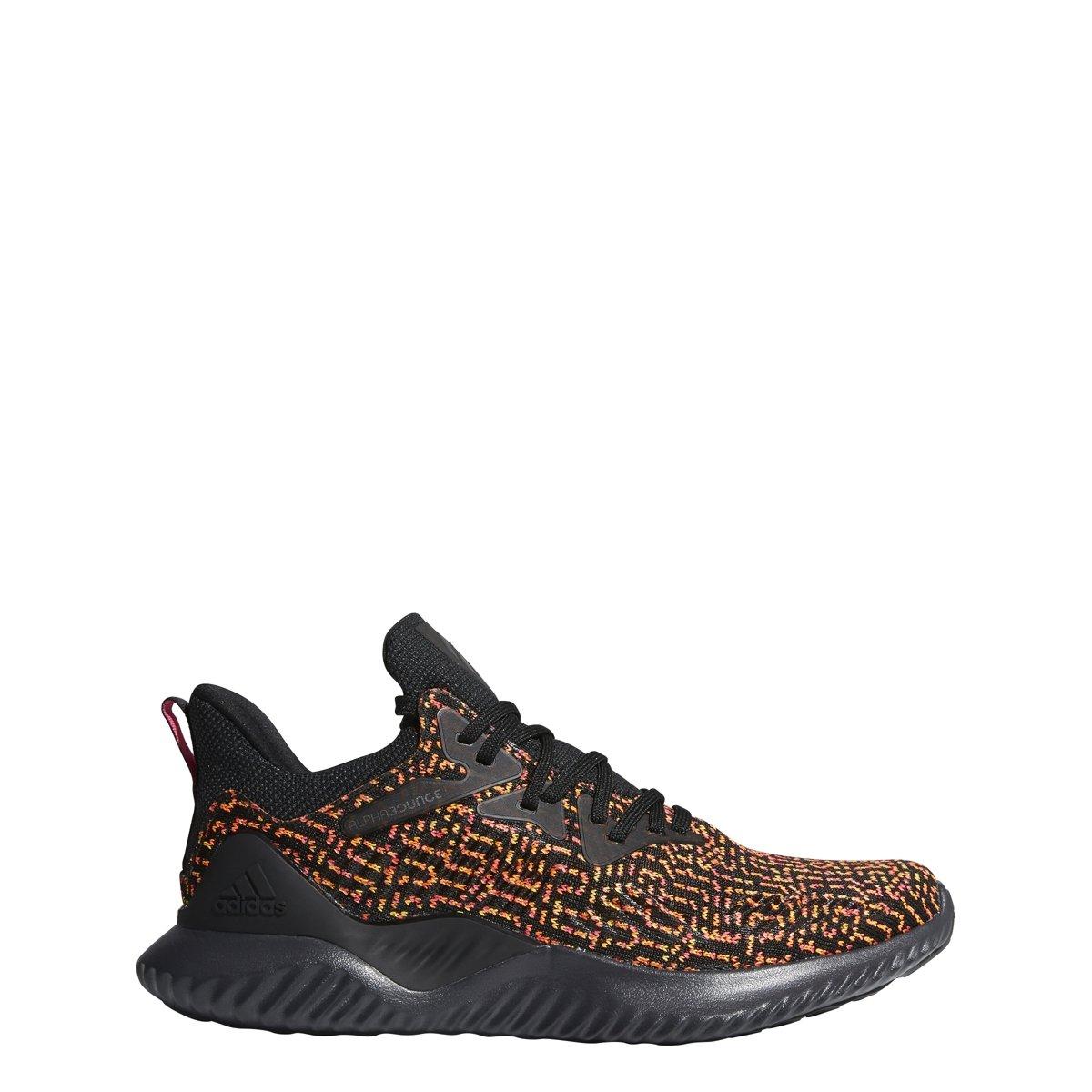 adidas Men's Alphabounce Beyond Ck Running Shoe B077XHXJ6J 14 M US|Black/Carbon/Shock Pink