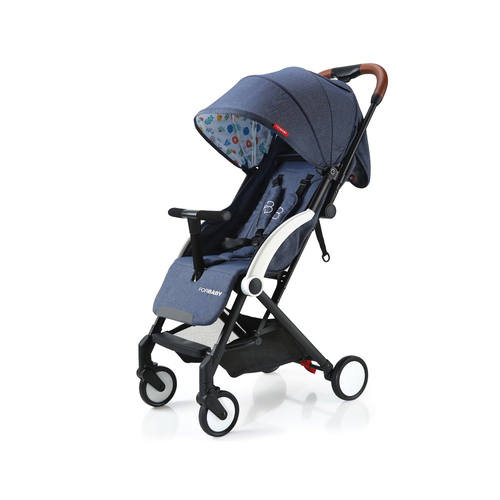Baby Stroller Light Weight Stroller Portable Stroller (Navy)