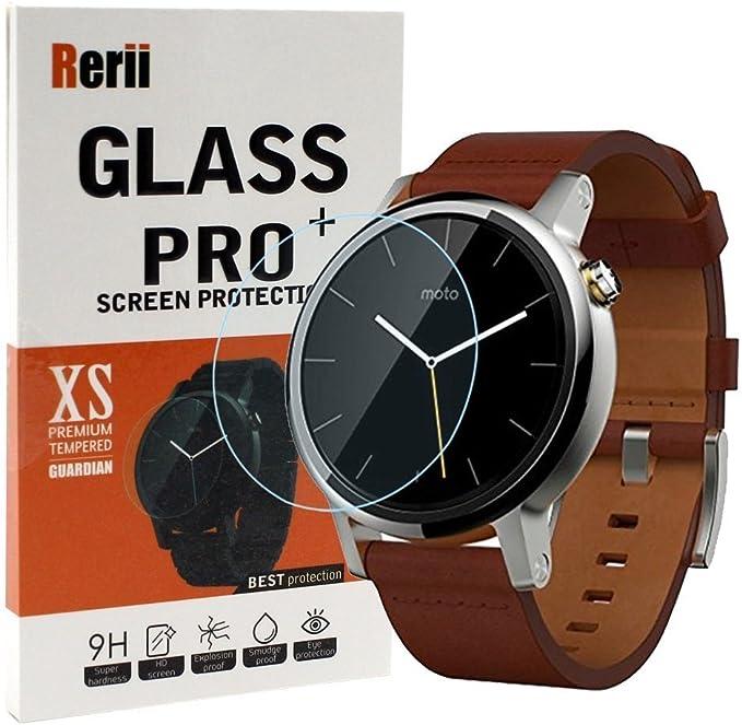 Rerii Protector de pantalla para Motorola Moto 360 2nd Gen reloj ...
