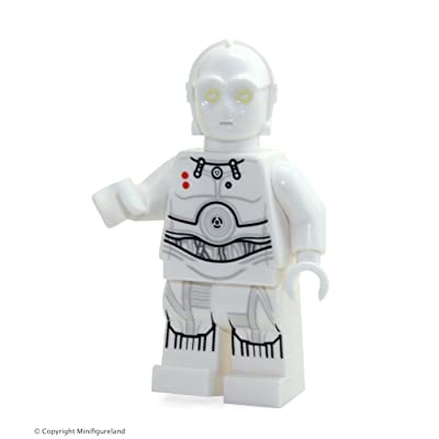 LEGO Star Wars MiniFigure - K-3PO (From Hoth Set 75098): Toys & Games