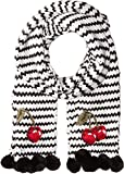 Kate Spade New York Womens Hand Knit Ma Chérie Muffler Cream One Size