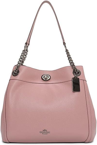 4ca26cc377df COACH Women s Turnlock Edie Dk Dusty Rose One Size  Handbags  Amazon.com