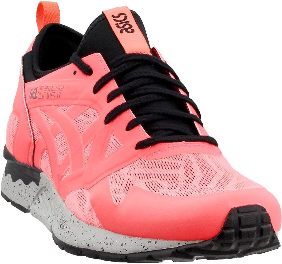 Details about ASICS GEL Lyte V Sneakers Orange Mens