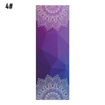 Antideslizante Clásico Mandola Yoga Toalla Diamante Textura ...
