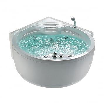 Whirlpool indoor rund  Whirlpool - Badewanne rund - Spa - indoor Jacuzzi - Sprudelbad ...