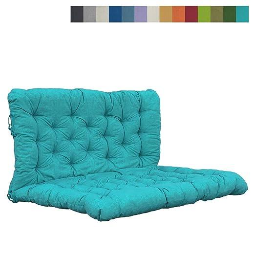 Akadas - Cojín para Muebles de jardín, Color Azul Claro ...