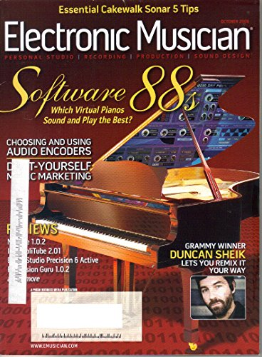 Electronic Musician Magazine, October, 2006 (Vol. 22, Issue -