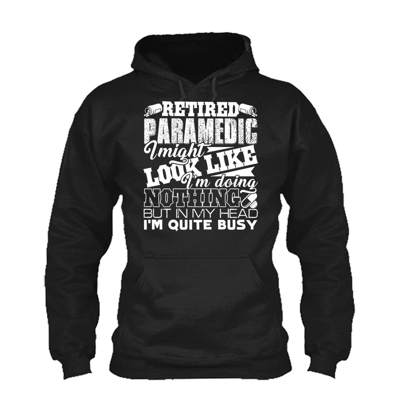Long Sleeve Shirt Retired Paramedic Tee Shirt
