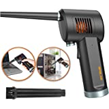 Compressed Air Duster, New Generation Canned Air, 33000 RPM Electric Air Can for Computer Keyboard Electronics Cleaning…