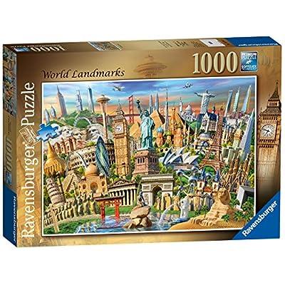 Ravensburger World Landmarks Puzzle Da Pezzi