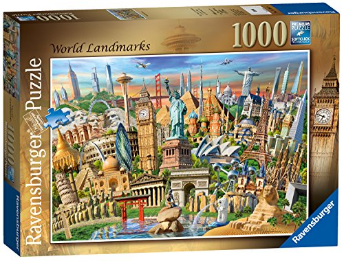 Ravensburger World Landmarks, 1000pc Jigsaw Puzzle