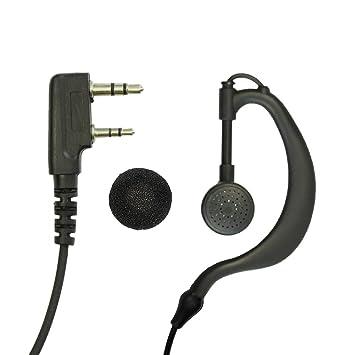 Baofeng Walkie Talkie Headphones Two Way Radio Headset for BF 888s UV5R 2 PCS