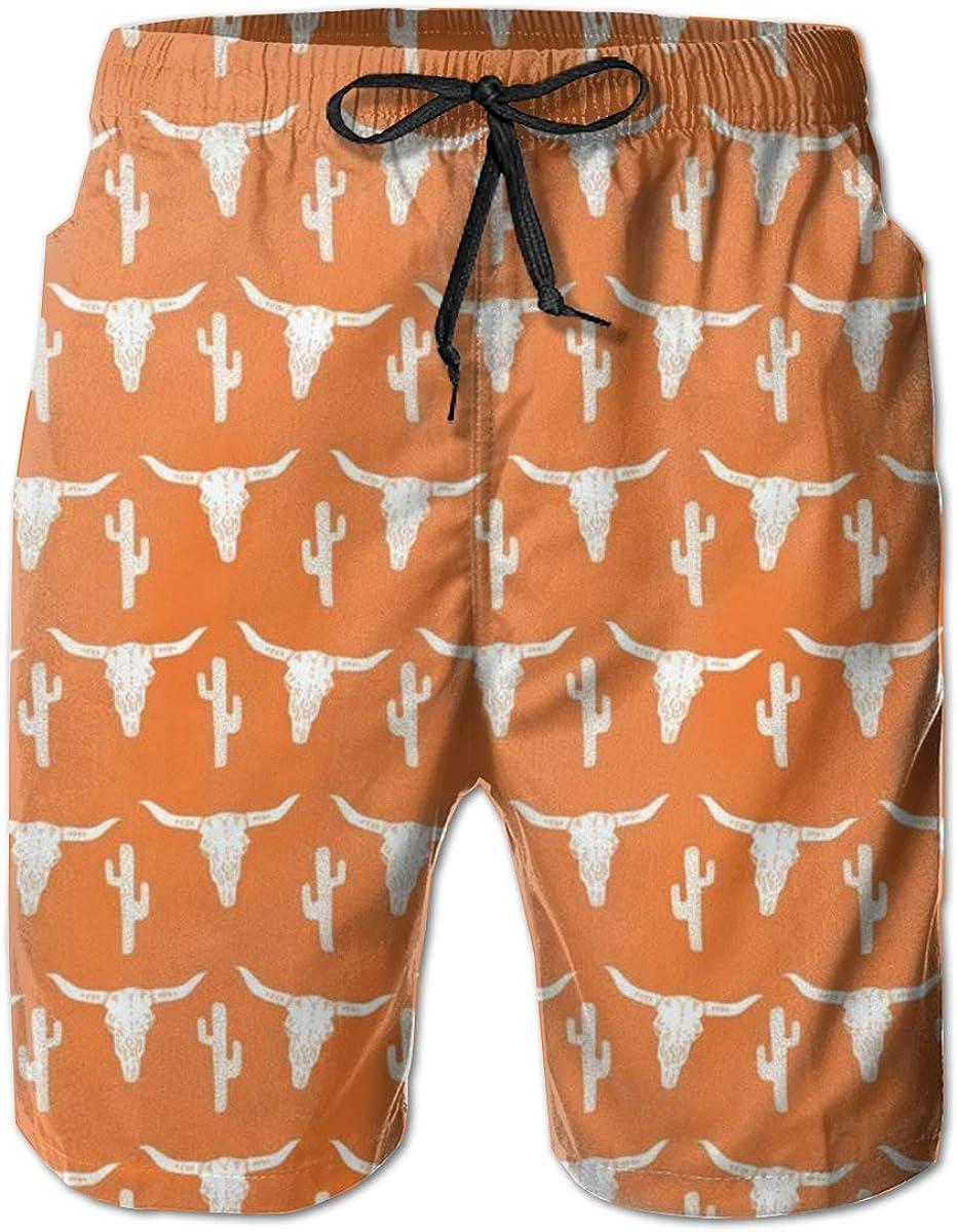 Mens Beach Swimming Trunks Long Hygge Gloves Swimsuit Swim Underwear Boardshorts with Pocket