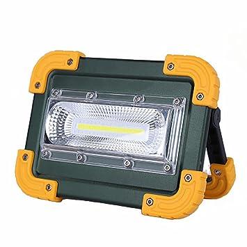 Mettime 20W Portátil Foco Lámpara LED Proyector Lámpara Camping ...