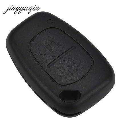 AjaxStore - 2 Button Remote Car Key Shell for Renault Trafic Vauxhall Opel Vivaro Nissan Primastar Fob Case - - Amazon.com
