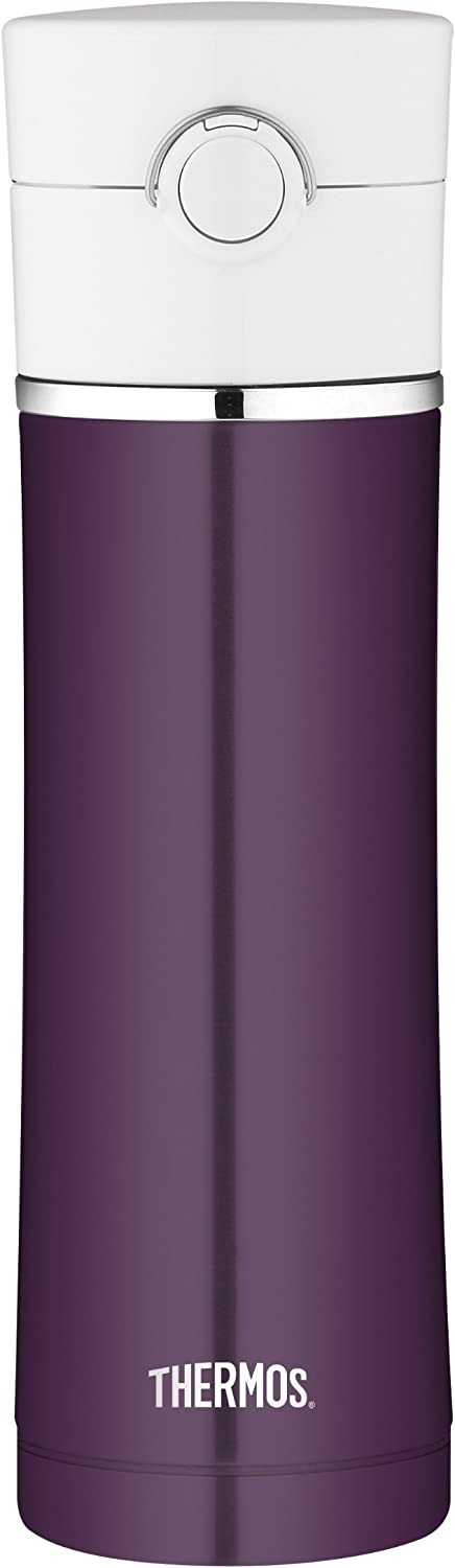 Thermos 16 Ounce Stainless Steel Vacuum Insulated Drink Bottle, Plum