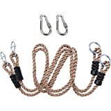 NOSTAFY 2PC Heavy Duty Length Adjustable Nylon Rope Express Setup Hanging Tree Straps (250 Lbs Limited/Each) for Outdoor…
