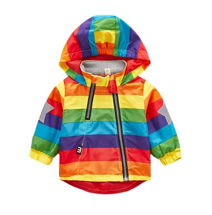 new product 6dc07 406cf Keephen Giacca Impermeabile Antipioggia Per Bambini Giacca ...