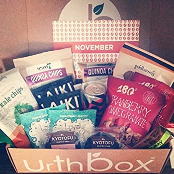 UrthBox Healthy Snacks: Free Bonus Box with Multi-month Orders