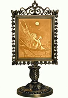 product image for Catch a Falling Star Porcelain Lithophane Victorian Accent Lamp