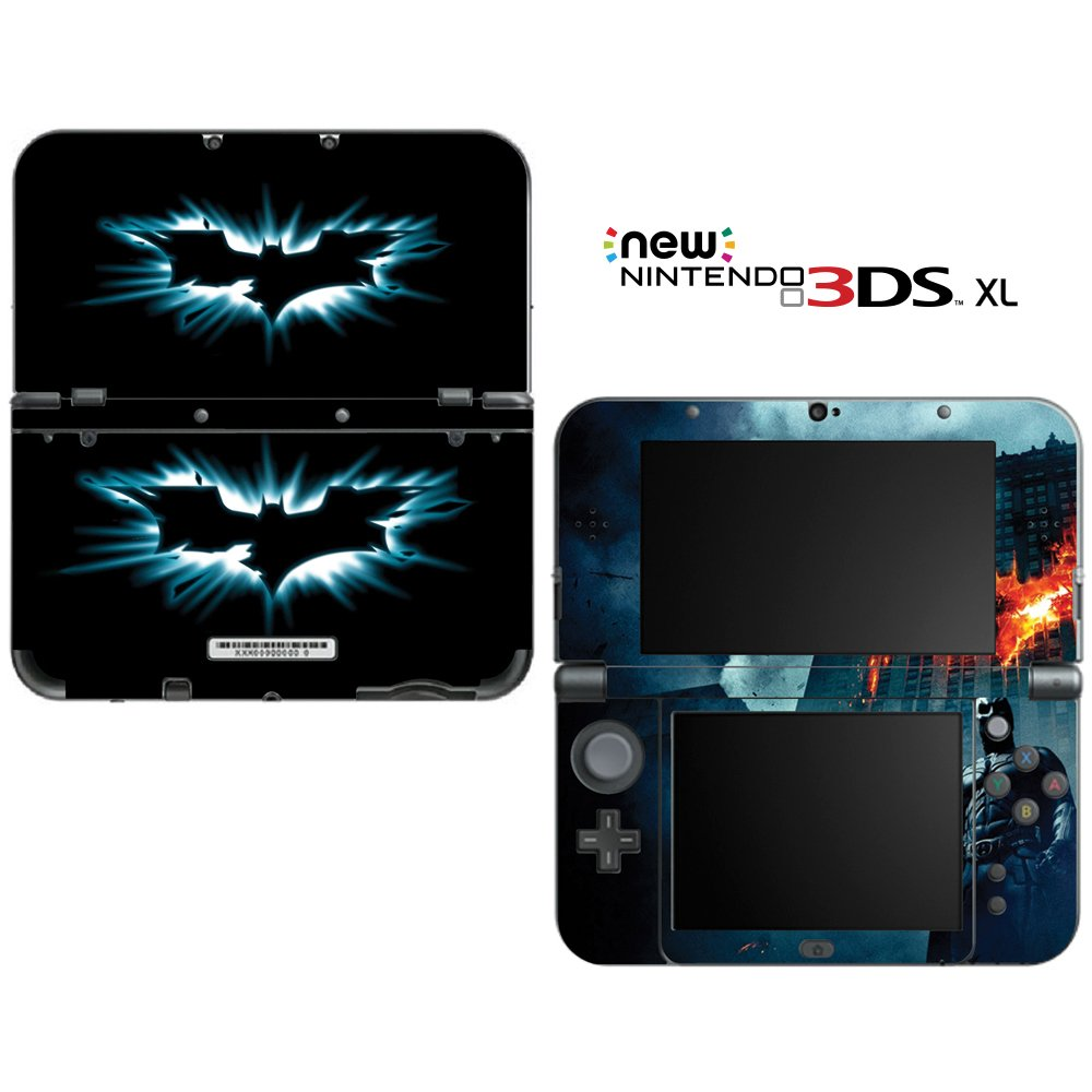 Batman The Dark Knight Rises Decorative Video Game Decal Skin Sticker Cover for the ''New'' Nintendo 3DS XL (2015-2017 Edition)