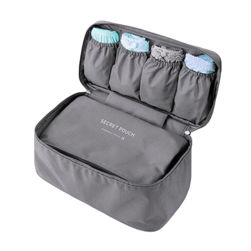 Sentao Viaggio Portatile Multi-Funzione Toiletry Bag Reggiseno Intimo Mutandine Cosmetici Stoccaggio Organizzatore