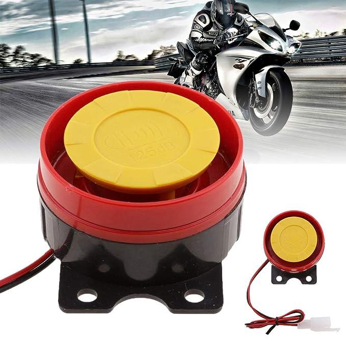 1 Pieza Gaoominy Sirena Bocina De Aire Caracol Rudioso Impermeable Universal 130Db para 12V Cami/ón Motocicleta