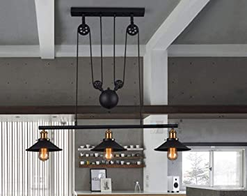 Oofay Light Loft Retro Industrial Pendelleuchte Licht Design Eisen
