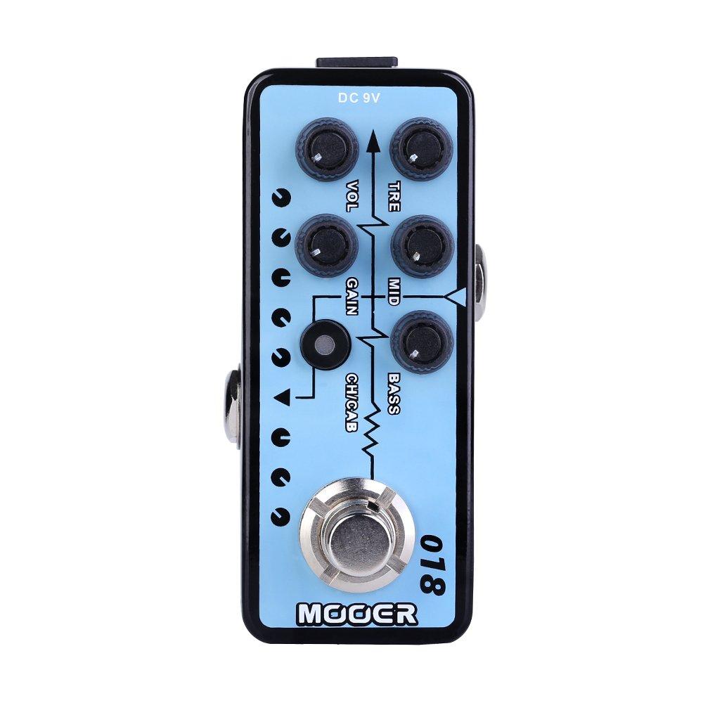 MOOER 018 CUSTOM 100 Digital Micro Preamp