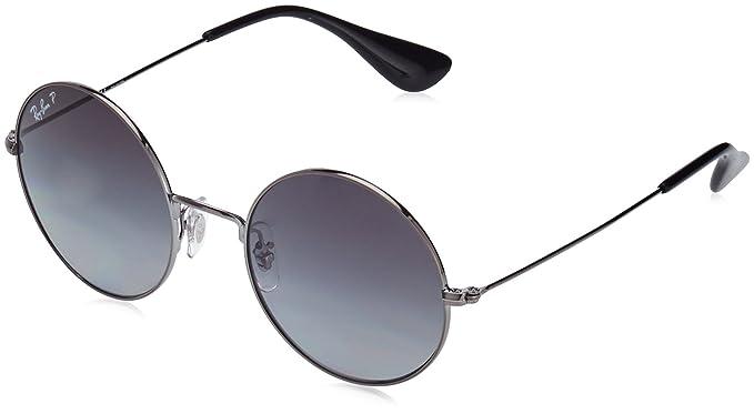 db0557e9ae Amazon.com  Ray-Ban Women s Metal Non-Polarized Iridium Round Sunglasses ( RB3592)