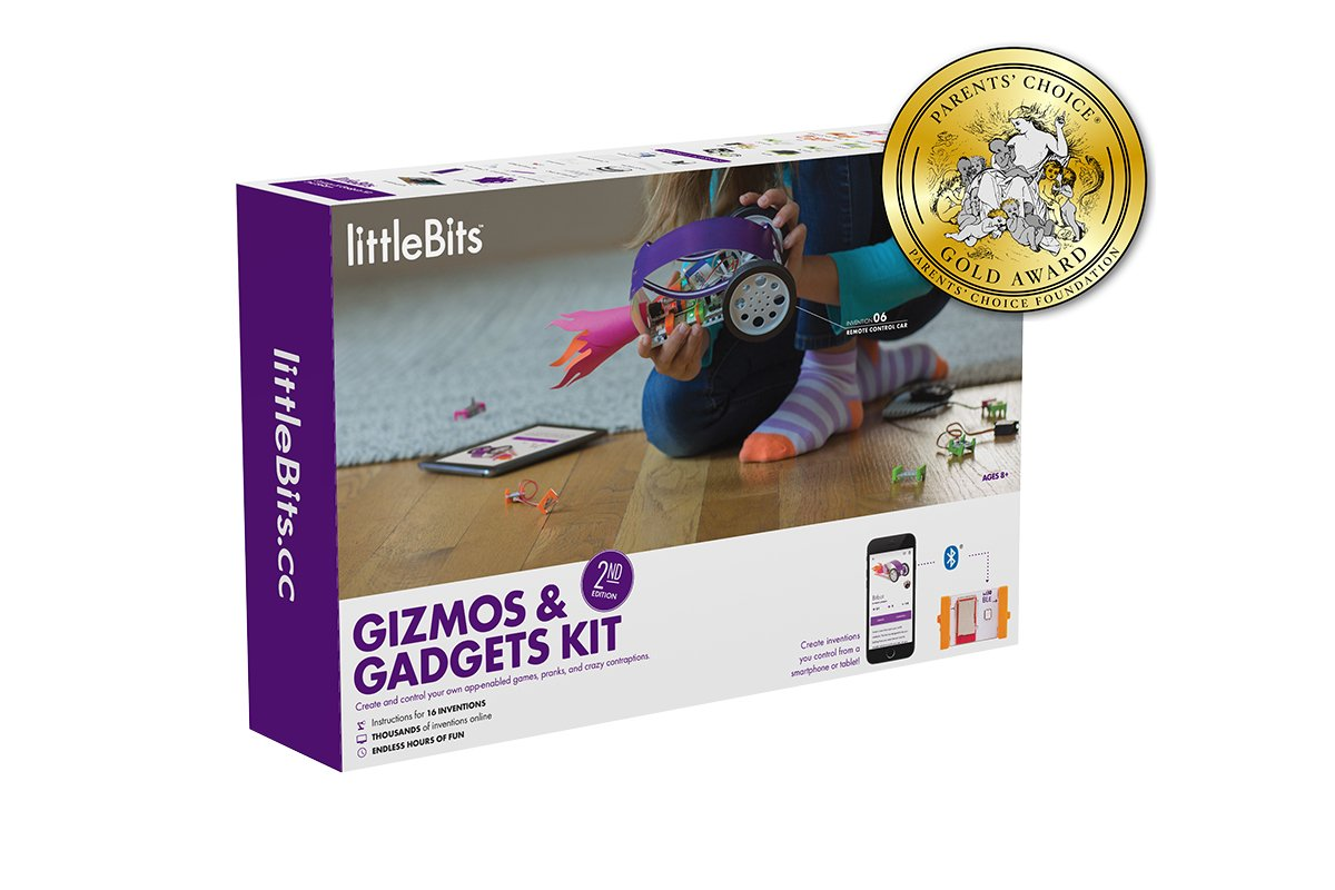 littleBits Gizmos & Gadgets Kit, 2nd Edition by littleBits (Image #3)