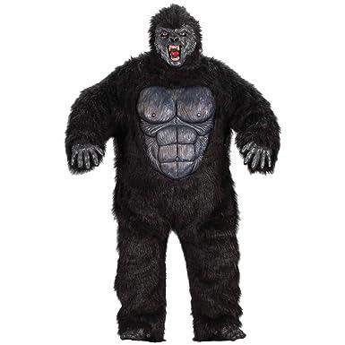Ferocious Gorilla Costume - Plus Size - Chest Size 48-53  sc 1 st  Amazon.com & Amazon.com: Ferocious Gorilla Costume - Plus Size - Chest Size 48-53 ...