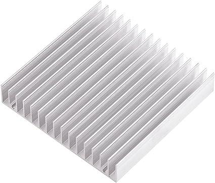 Aluminum Heatsink Cooling 40x40x11mm for LED Power Memory Chip IC Transistor L