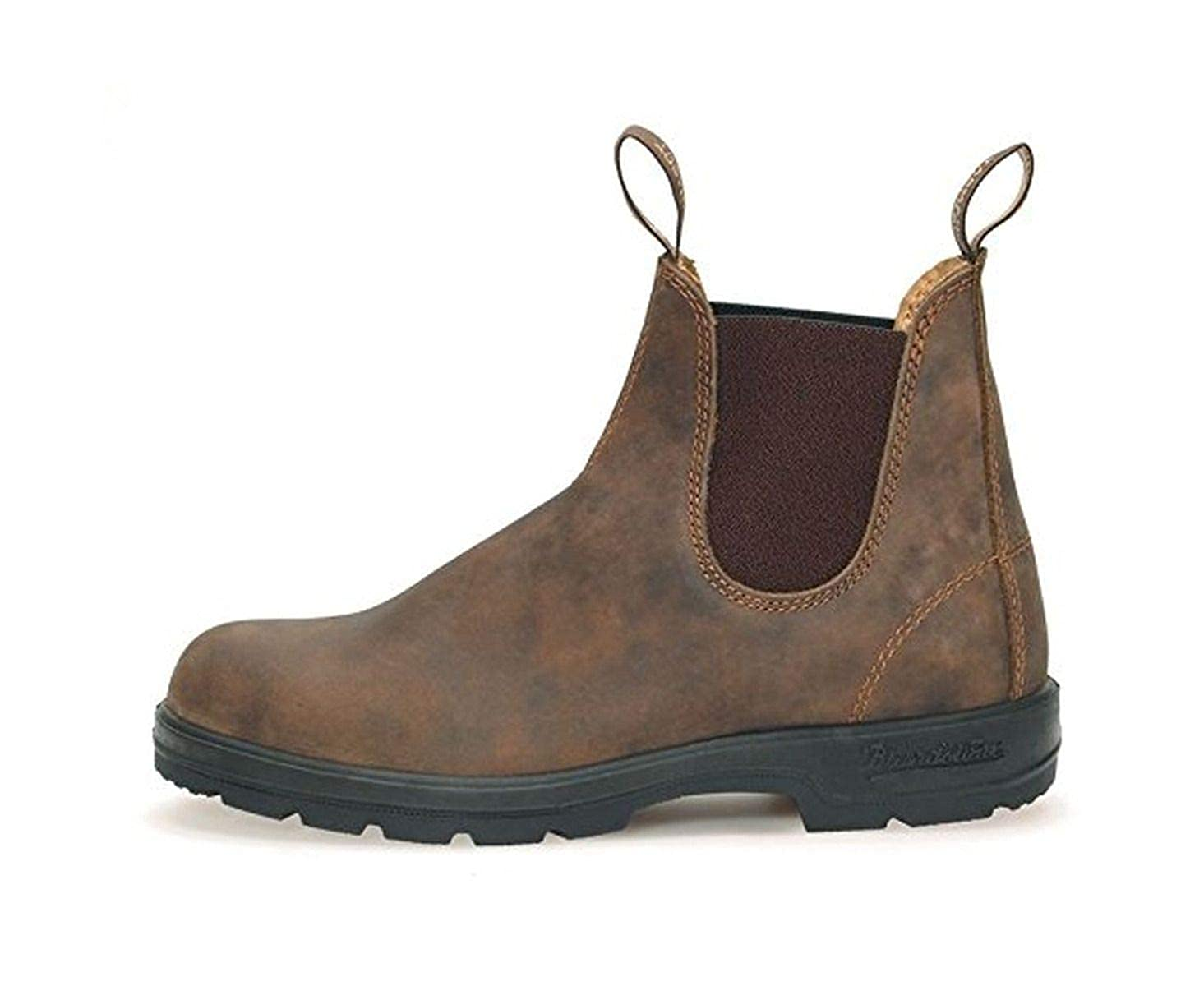 c254009daec2 Blundstone Original Rustic Brown Casual Leather Dress Boots 585 Series   Amazon.co.uk  Shoes   Bags
