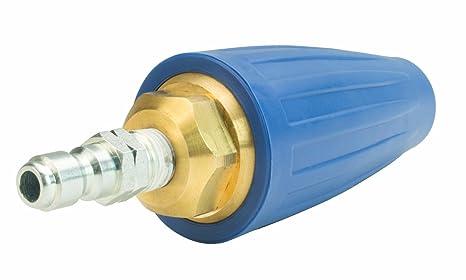 Erie herramientas limpiador a presión rotación Turbo boquilla 5000 PSI, 5.0, 5.6 GPM del