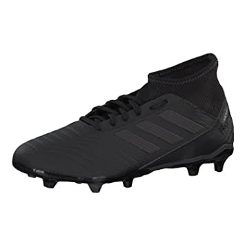 check out 6aa29 26192 adidas Predator 18.3 FG Football Boots - Adult - Core Black Utility Black -  UK Shoe Size 9  Amazon.ca  Sports   Outdoors