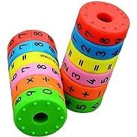 Bobury Magnética aprendizaje de las matemáticas Cilindro Números