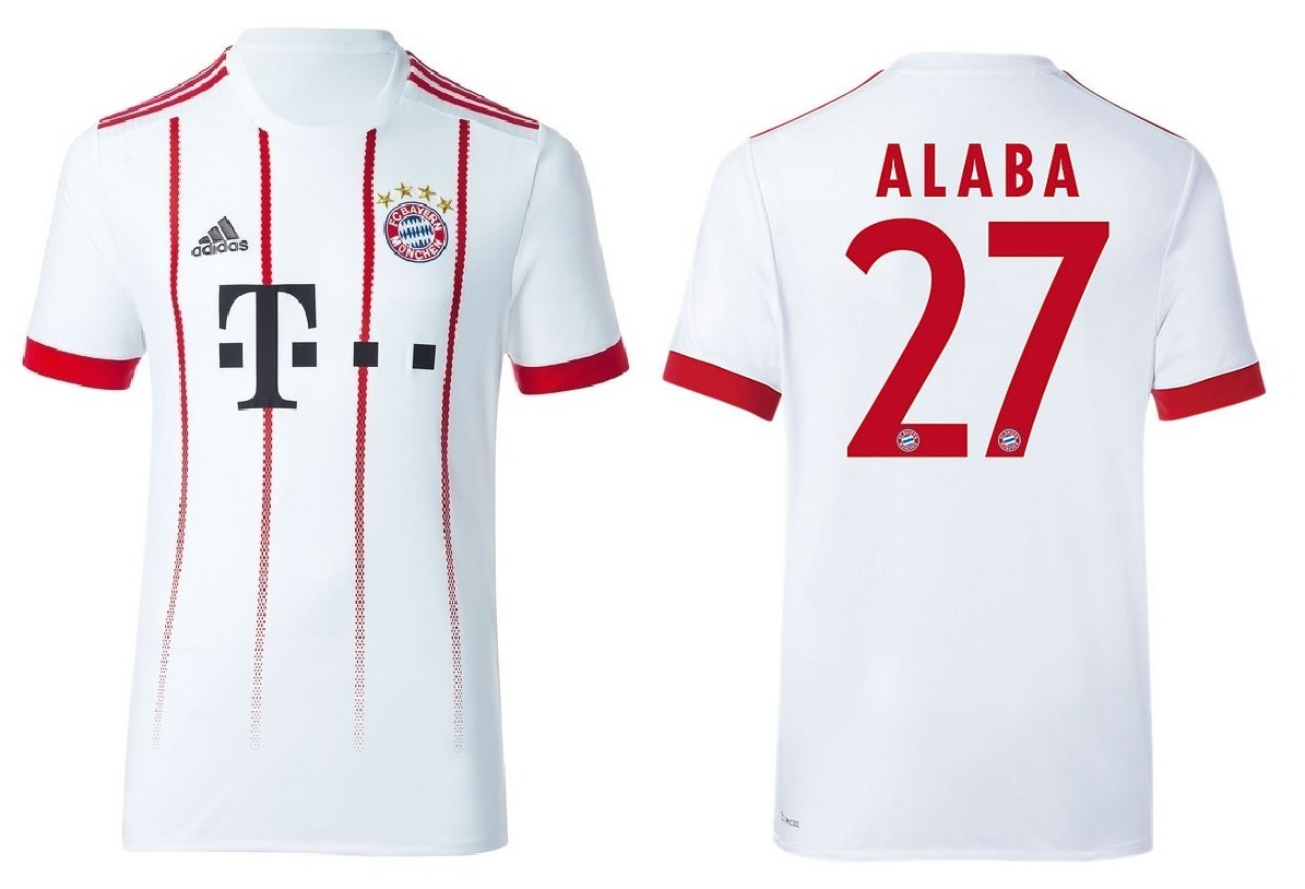 Trikot Kinder FC Bayern 2017-2018 Third - Alaba 27