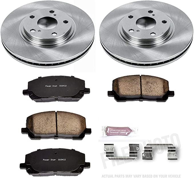 Reliance *OE REPLACEMENT* Disc Brake Rotors *Plus Ceramic Pads F1213 FRONT KIT