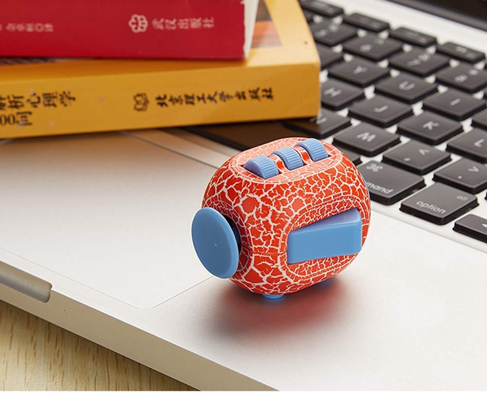Fidget Toy Cube Toy with Click Ball - Relieve Stress and Anxiety Fidget Toys,Randomcolor2pc by TRF (Image #7)
