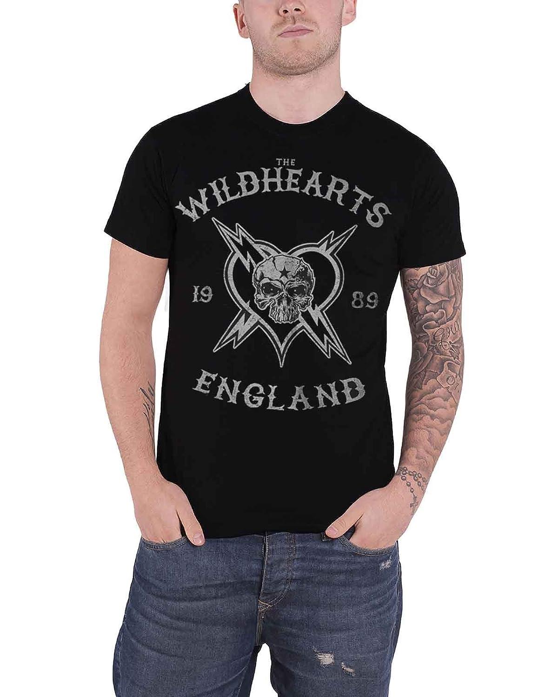 The Wildhearts T Shirt England 1989 Band Logo Nouveau Officiel Homme